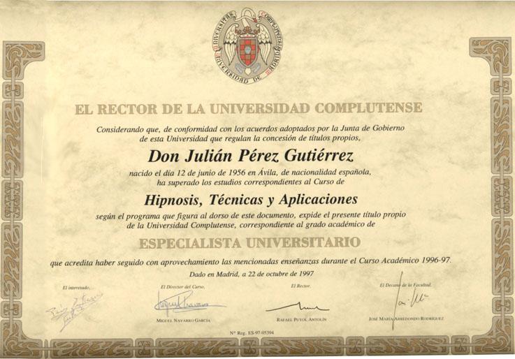 Acreditaciones de esta obra de p for Universidad de valencia master